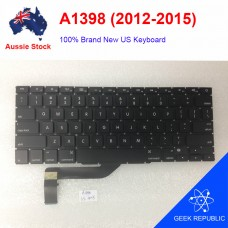NEW US Keyboard for Apple MacBook A1398 2012 2013 2014 2015