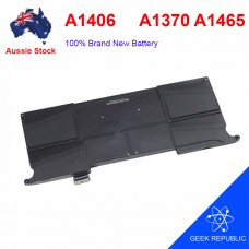 "Battery A1406 For Apple Macbook Air 11"" A1370 2011 & A1465 2012 Replace AU"