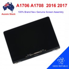 """Grade AAA Genuine Screen Display Assembly for MacBook Pro 13.3"""" A1706 A1708 2016 2017 Silver"""